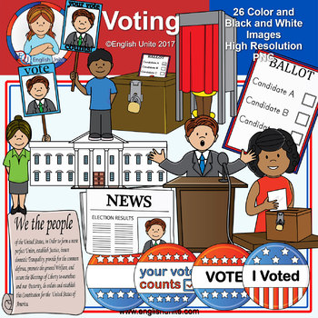 Clip Art - Voting