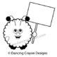 Warm Fuzzy with Blank Sign / Warm Fuzzies Clipart Set