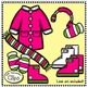 Clip Art - Warm Winter Clothing for Kids