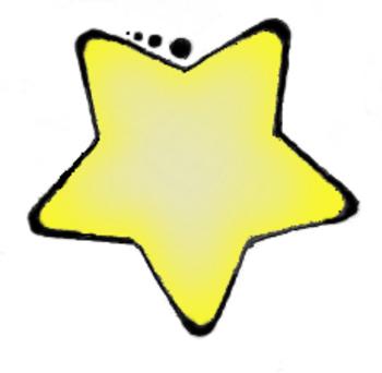 Clip Art-Yellow Star