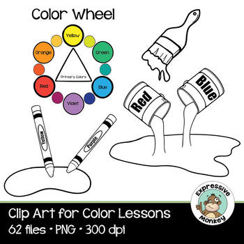 Clip Art for Color Lessons