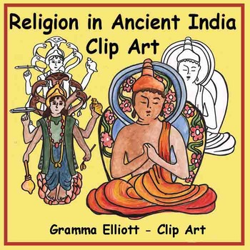 Clip Art for Gods in India