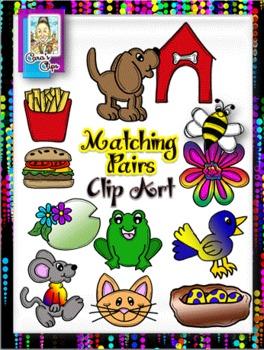 Clip Art~Matching Pairs