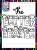 Clip Art~The Letter People Alphabet
