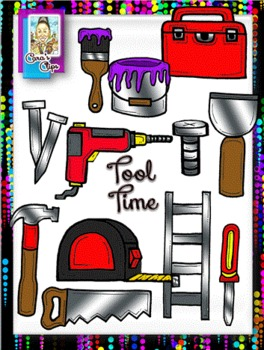 Clip Art~Tool Time