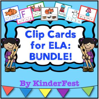 Clip Cards for ELA: Bundle!