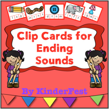 Clip Cards for Ending Sounds