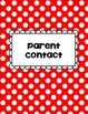 Clip Chart Behavior Management Primary Polka Dots (Editable)
