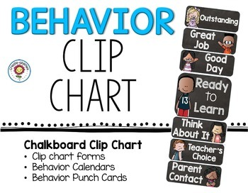 Clip Chart Behavior Management System EDITABLE