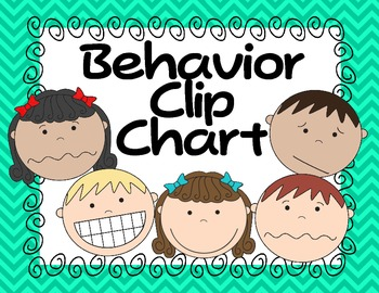 Clip Chart Behavior Managment System--Color Version