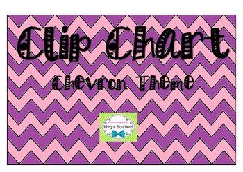 Clip Chart (Chevron Theme)