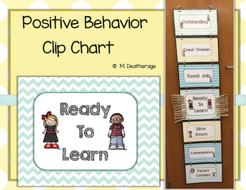 Clip Chart Positive Behavior Chart