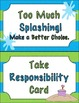 Clip Chart Tropical Theme {Behavior Management}