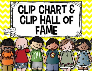 Clip Chart and Clip Hall of Fame Freebie!