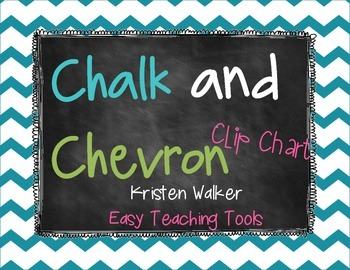 Clip Chart and Notes Home {Chalk & Chevron}