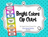 Clip Chart in Bright Colors