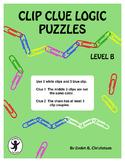 Clip Clue Logic Puzzles Level B