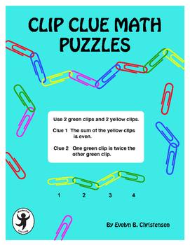 Clip Clue Math Puzzles
