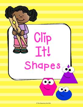 Clip It! - A Shape Game