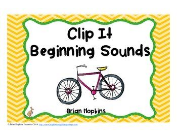 Clip It Beginning Sounds