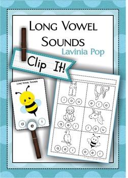 Clip It! - Long Vowel Sounds {FREE}