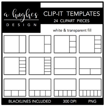 Clip-It Templates {Graphics for Commercial Use}