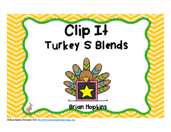 Clip It Turkey S Blends