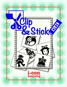 Clip & Stick 3 Letter Words - Pac 1