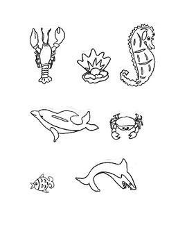 Clip art, Black & White Sea Life, Follow me because some w