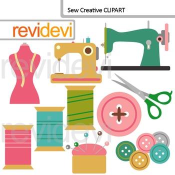 Clip art Sew Creative