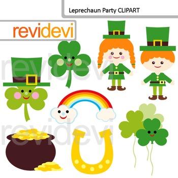 Clip art St. Patrick's Day - Leprechaun Party