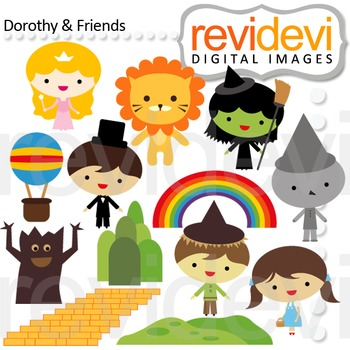 Clip art: fairytale (wizard of oz inspired) rainbow