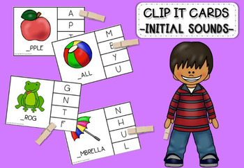 Clip it cards -Initial sound-