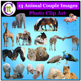 Clipart ♦ Animal Couples Photo Clipart