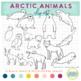 Arctic animals Clipart {winter}