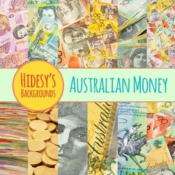 Australian Money Photos Background Clip Art Pack for Comme