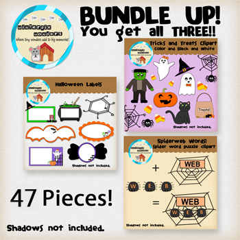 Clipart: Bundle up! Halloween