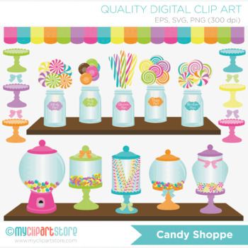Clipart - Candy Shoppe