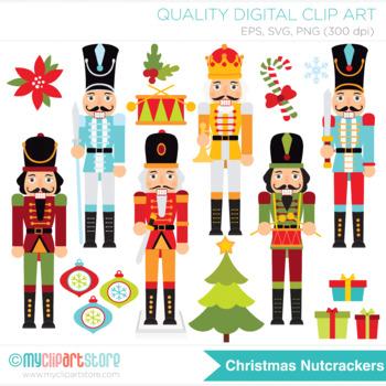 Clipart - Christmas Nutcrackers