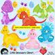 Clipart, Digital Stamps, Dinosaur Digital stamps, line dra