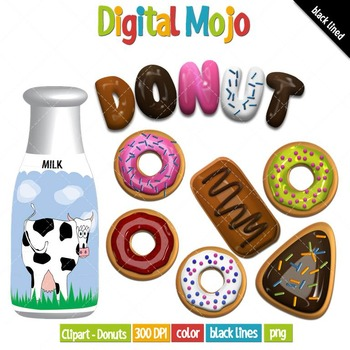 Clipart - Donuts