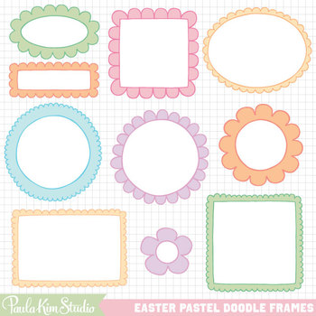 Borders - Easter Pastel
