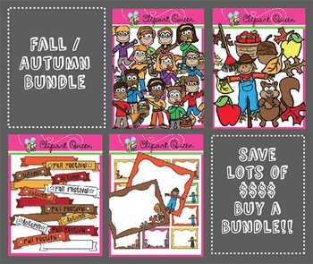 Clipart: Fall / Autumn Bundle