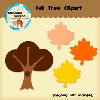 Clipart: Fall Tree - Fall Leaves