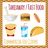 Clipart: Fast Food Takeaway Take Out Junk Food Clip Art Pa