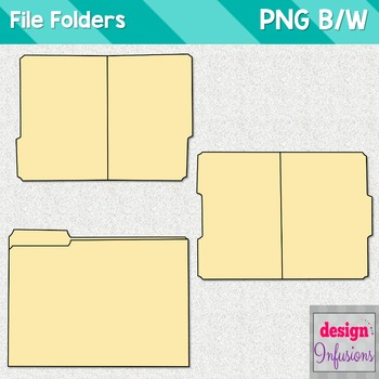 Clipart: File Folders