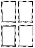 Clipart Frames in Black & White