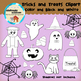Clipart: Halloween - Tricks and Treats