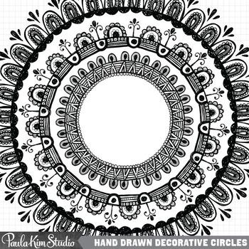 Frames - Hand Drawn Circles