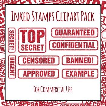 Stamped Words - Confidential, Top Secret, Urgent ETC. Comm